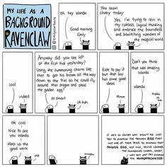 Background Slytherin/Ravenclaw: Triwizard Tournament First Task. Harry Potter Comics, Harry Potter Jokes, Harry Potter Fan Art, Harry Potter Universal, Harry Potter Fandom, Harry Potter World, Drarry, Tom Felton, Ravenclaw