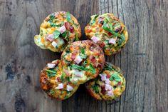 Opskrift: Proteinrige Æggemuffins