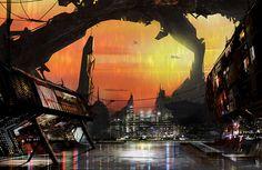 City by D--CO on deviantART