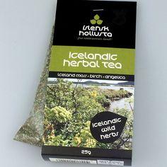 Icelandic Herbal Tea 25 grams with antioxidant effects - Moss - Birch - Angelica #slenskHollusta