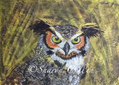 project by Sharon Cullen in Painting Wildlife: Acrylic Mixed Media @ www.Craftsy.com