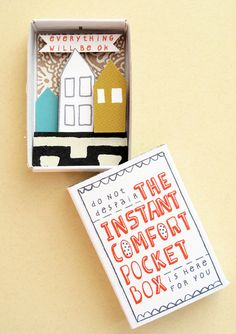 The Instant Comfort Pocket Box Three houses door kimslittlemonsters