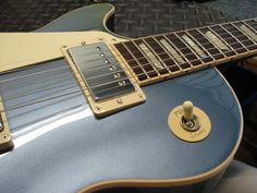 2012 Gibson Les Paul Standard Pelham Blue Lefty Left Handed