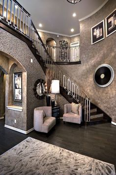 50 best house interior design to transfrom your house 47 ⋆ All About Home Decor Dream Home Design, My Dream Home, Home Interior Design, House Design, Luxury Interior, Stylish Interior, Modern Interior, Design Case, Design Design