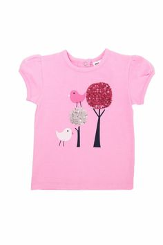 8c9c925e246 Tree Tee by Milky Add a touch of whimsy to your baby s wardrobe with this  sequined