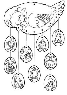 61 Trendy craft for kids spring coloring pages Spring Coloring Pages, Easter Coloring Pages, Colouring Pages, Coloring Books, Easter Arts And Crafts, Spring Crafts, Diy And Crafts, Chicken Crafts, Easter Printables