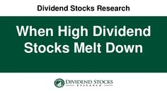 Want to find high dividend stocks?  Find earnings growth, and you're on your way.  Here's how.