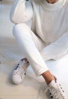 Sunday style : casual white !