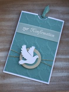 Einsteckkarte zur Konfirmation