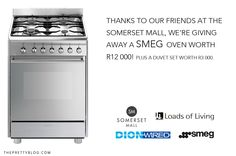 Smeg oven giveaway with Somerset Mall Loft Style Apartments, Duvet Sets, Somerset, Apartment Ideas, Followers, Mall, Oven, African, Decor Ideas