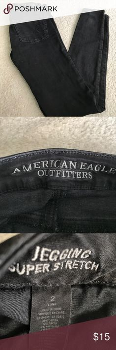 American eagle super stretch legging Size 2 long American Eagle Outfitters Jeans