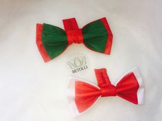 Portugal VS Poland football bow ties. Must be worn as a great accessory  #UEFA2016