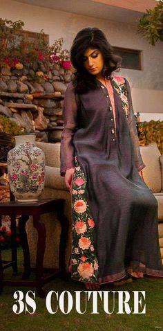 3S Couture Party Wear Dresses Collection 2013 For Women (2)