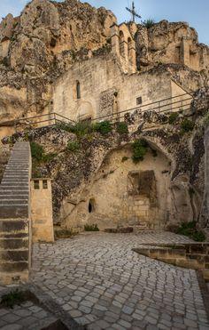 Madonna dell'Idris (Chiesa Matera): scalinata