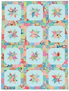 """Check out our top 10 quilt books of 2013—chosen by you! The """"Star Blossoms"""" quilt above is from our number-one bestselling book of the year; can you guess which title took home the gold medal?"""