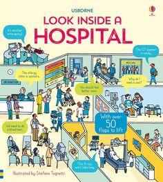 """Look inside a hospital"" at Usborne Children's Books"