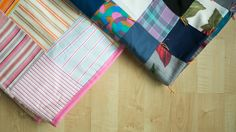 Sewing Clothes into Quilts with Blair Stocker