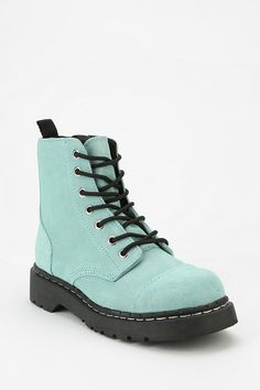 T.U.K. Suede Combat Boot #urbanoutfitters