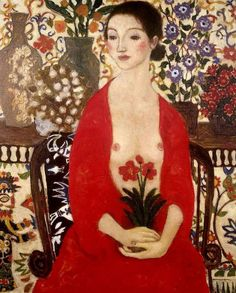Women in Painting by Xi Pan Chinese Artist ~ Blog of an Art Admirer
