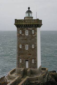 Kermorvan lighthouse [1849 - Le Conquet, Brittany, France]