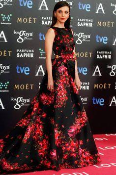 Leticia Dolera in DOLORES PROMESAS at the 2015 Goya Awards #fashion