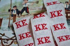 アンティークイニシャルテープゴシック【KE】22個 インテリア 雑貨 家具 Antique initial tape ¥440yen 〆05月14日