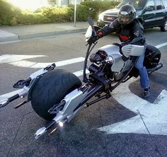 Return of Jedi inspired Speeder Motorcycle.