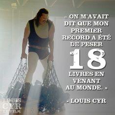 Savez-vous quel aurait été le premier record de Louis Cyr? Louis Cyr au cinéma ÉTÉ 2013 !