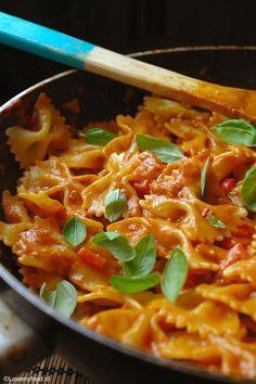 Romige pastasaus met wodka - Lovemyfood.nl