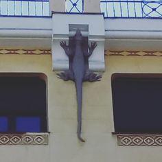 Casa de los lagartos. Madrid
