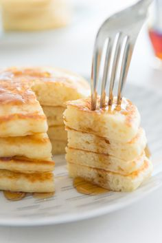 Every time I take a bite of a really good buttermilk pancake, one that is fluffy, light, and perfectly flavored with a little sweetness and vanilla, I feel like I could write a poem about how it co…