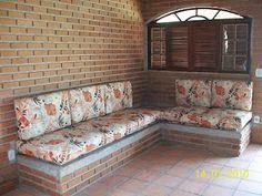 sofa de alvenaria - Pesquisa Google