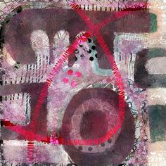 Michèle Brown Artist - The Old Cells Studio: Two pink lines
