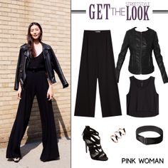 Get the streetstyle look! Shop the outfit online at www.pinkwoman-fashion.com