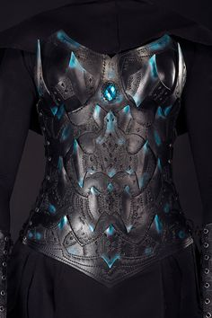 Dark Elf Chest&Back Armor Warrior Lady's Corset by IronWoodsShop