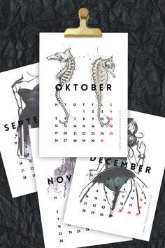 10 calendarios descargables : Fresh
