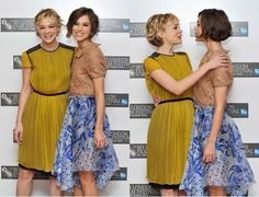 carey mulligan and keira knightley, co-stars in never let me go