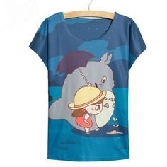 Be fashionable while wearing your favorite character, Totoro! - This is perfect for any My Neighbor Totoro Lovers! - While Supplies Last! Limit 10 Per Order Please allow 4-6 weeks for shipping Item Ty