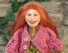 soraya dolls | ... girl from Winter Child collection 1:12 dollhouse doll by Soraya Merino
