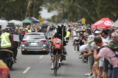 Elite men's road race Gallery: #PatLane caught #Clarke and went out alone.