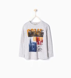 ZARA - KIDS - Come enjoy lights T-shirt