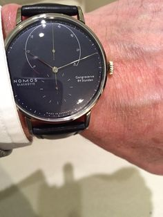 Just had a visit at Nomos Glashuette​ and we're proud to say that we're going to be an official dealer for NOMOS' gold watches as well! There are only a couple of dealers in the Netherlands for their gold models, and we're the only one in the area of Amsterdam! Stay tuned for more info about these beautiful watches by NOMOS Glashütte.  #qpexclusievehorloges #qpx #amsterdam #nomosglashutte #nomosglashuette #watches #watch #horloges #horloge #basel #baselworld #baselworld2015 #gold…