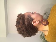My natural hair journey - first attempt at two strand twist out into Bantu knots on my transitioning hair just 2 months in. Can't believe the natural effect you can achieve