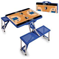 Minnesota Timberwolves NBA Blue Portable Picnic Table