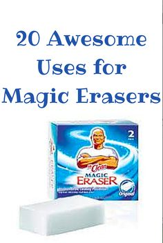 20 Awesome Uses for Magic Eraser