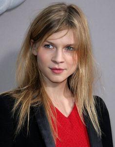 Les chevelure sauvageonne de Clémence Poésy en 2008