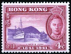 King George VI-Hong Kong 1949