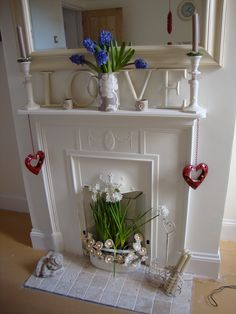 Cast iron fireplace rescued from a skip!