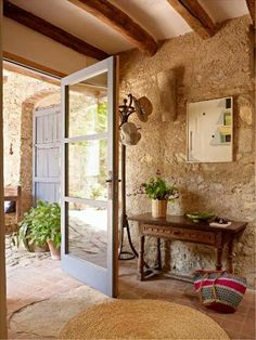 121 Gorgeous Rustic Italian Home Designs That You'll Inspired Rustic Italian, Italian Home, Italian Villa, Italian Cottage, Rustic Cottage, Stone Houses, Interior Design Services, Rustic Interiors, My Dream Home