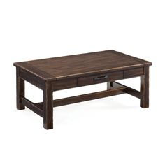 Magnussen Kinderton Wood Step-Up Rectangular Cocktail Table | www.hayneedle.com